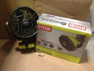 RYOBI Garage Fan Accessory in good condition