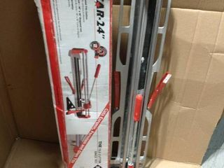 Rubi 24 in. Speed Tile Cutter in good condition