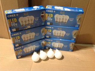 60W Equivalent Soft Whi60W Equivalent Soft White (2700K) A19 Dimmable Exceptional Light Quality LED Light Bulb (2-Pack) in good condition