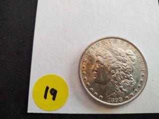 1898 BU Morgan Dollar