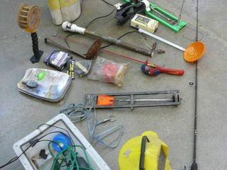 Lot of Fishing Items