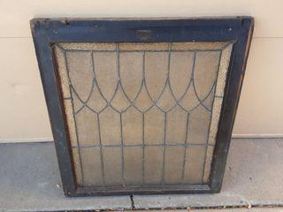 Old Lead Window Pane 28x30 (Has Some Damage)