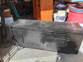 Vintage 9-Drawer Low Dresser 60x18-1/2x24
