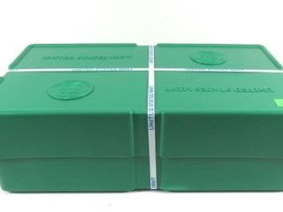 500 2019 Silver Eagles In A Green Sealed From The
