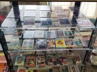 Baseball Card Collection - Inside Showcase