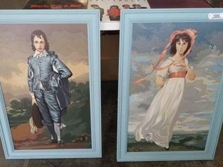 Hand Painted Framed Pictures