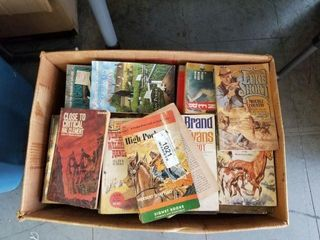 Large Box of Paperback Books