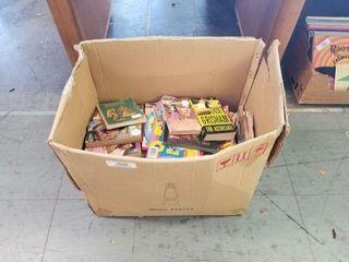 Large Box of Books