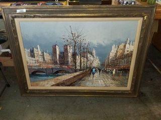 Signed Original Oil on Canvas