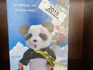 Walking Musical Panda in Box
