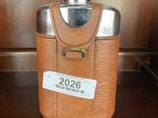 Leather Wrapped Flask
