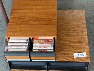 Cassettes & Video's Case