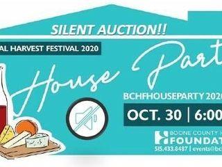 Silent Auction-Harvest Festival House Party 2020