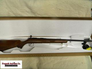 CZ Model 452 22LR Left Hand with very nice walnut