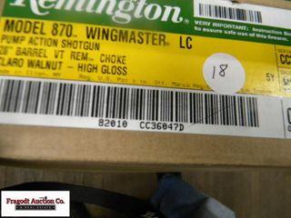 Remington 870, 12 gauge, 3? vent rib with Claro Wa