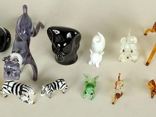 Collectible Miniature Glass Whimsey Figurines