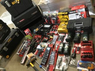 ASSORTED HUSKY AND OTHER BRANDED TOOLS AND TOOLBOXES! SEE PICS!