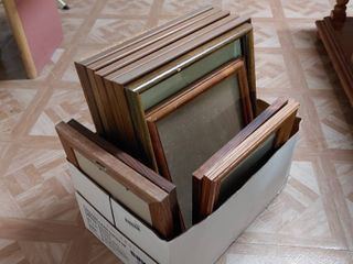lot of 12 large And Medium Wooden Frames   12  to 16  T