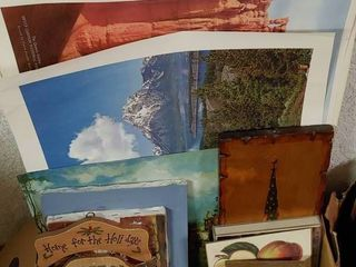 lot of 15 Assorted Pictures   Prints