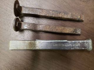 lot of 3 Railroad Spikes   6  long