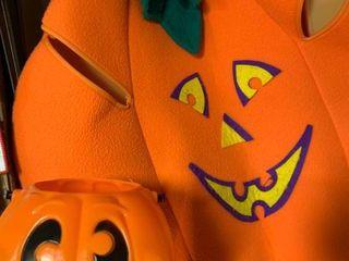 large Children s Halloween Pumpkin Costume   Pumpkin Bucket