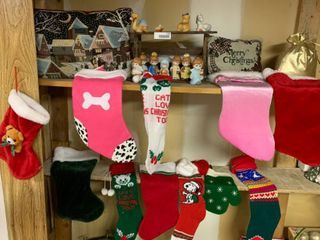 large lot of Christmas Themed Decor Items   lot 2 of 2