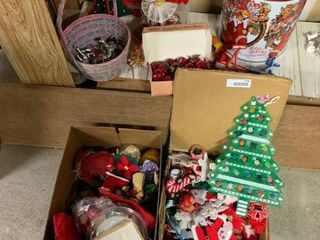 large lot of Various Plastic Canvas Ornaments