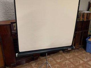 Projector Screen   Screen   36  W x 36  T