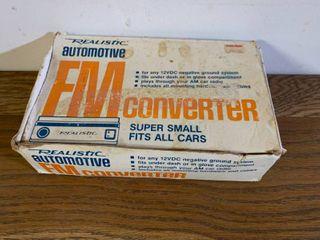 Vintage Realistic Automotive FM Converter