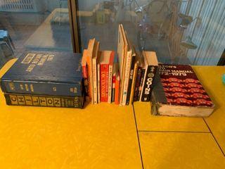 lot of 21 Books   Includes 3 large Vintage Auto Repair Books