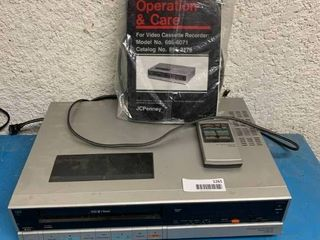 Vintage JC Penney Video Cassette Recorder
