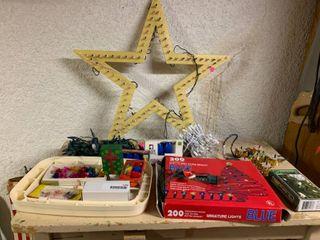 large lot of Christmas Decor Items