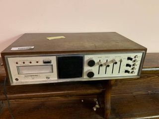 Masterwork 4 Channel Stereo Quadraphonic   Mo  SQ 447   Turns On