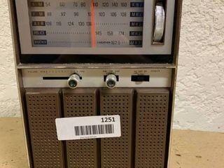 Vintage Kmart Portable Radio   Turns On