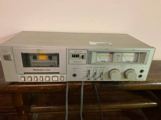 Vintage Technics M205 Dolby Cassette Stereo   Untested