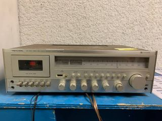 Vintage Realistic High Fidelity Receiver Cassette Recorder Stereo   Mo  SCR 1800   Turns On but Cassette is Not Working