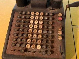 Vintage Burroughs Portable Adding Machine