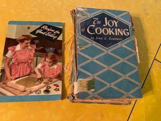lot of 2 Cook Books    The Joy of Cooking  and  Recipes for Good Eating