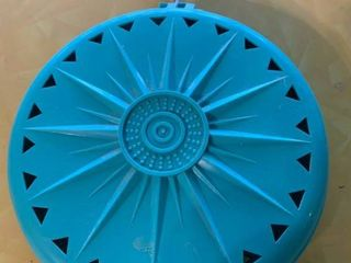 Turquoise Moth Ball Hanger   5  Wide