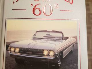 Automobiles of the 60 s Book