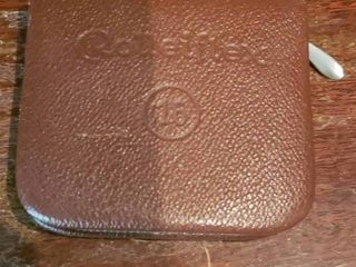 Small Rolleiflex Wallet   3  x 3