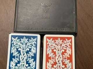Kem Plastic Playing Card Double Deck