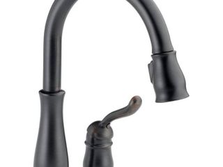 Delta 978 RB DST leland Single Handle Pull Down Kitchen Faucet  Venetian Bronze