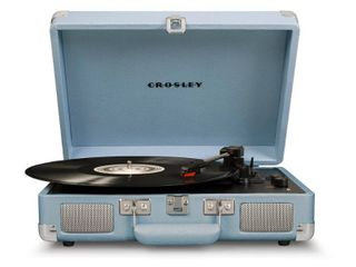 Crosley Radio Cruiser Deluxe Turntable, Size One Size - Grey
