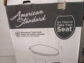 4 toilet seats American Standard 5257a 65bl 021 Mainstream Toilet Seat Bone Rl1367 854813