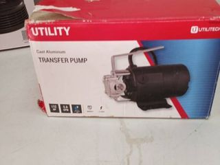 Utilitech 1 12 Hp Stainless Steel lawn Transfer Pump