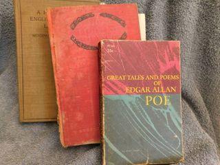 Vintage Books  3 ea