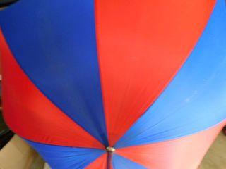 Red   Blue Umbrella