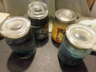 Jar Candles  4 ea