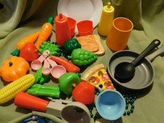 Play Kitchen Food lot